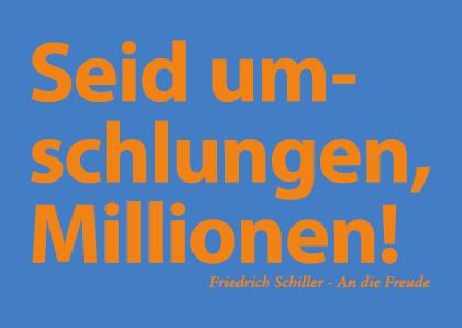 Seid umschlungen Millionen!